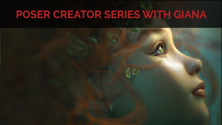 Poser Creator Series with Giana